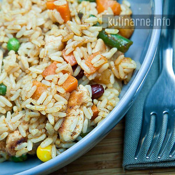 Ryż po indyjsku