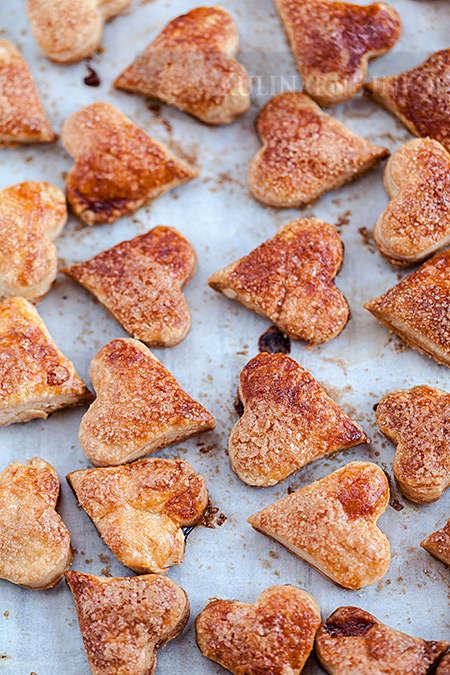 Świąteczne ciasteczka francuskie