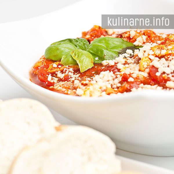 Omlet w pomidorach