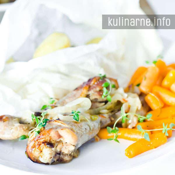 Kurczak słodko-pikantny w marynacie