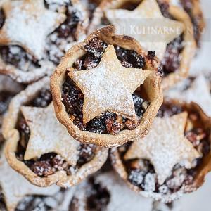 Brytyjskie świąteczne ciasteczka Mince pies