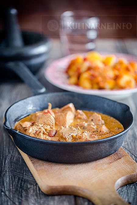 Butter chicken po indyjsku