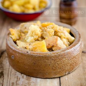 Curry z kurczakiem, kalafiorem i dynią