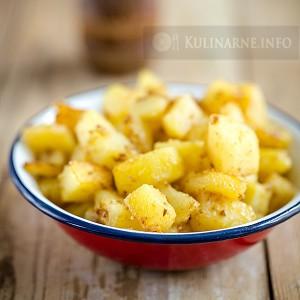 Smażone ziemniaki z przyprawami