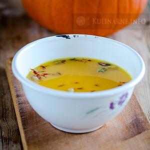 Zupa dyniowa z szafranem