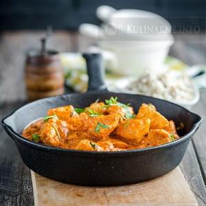 Szybki kurczak na sposób indyjski