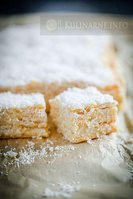 Szybkie ciasto Rafaello bez pieczenia