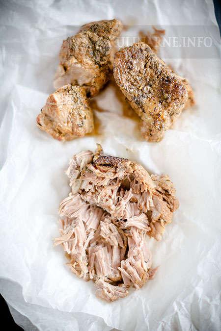 Wieprzowina długo pieczona (slow-roast pork)