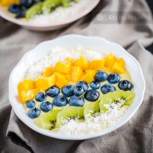 Smoothie bowl: mango i banan